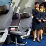 Премиум эконом класс Lufthansa от 68840 руб.